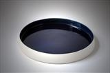 large blue dish by Daniel Smith, Ceramics, porcelain