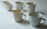 mugs (large) by Daniel Smith, Ceramics, porcelain